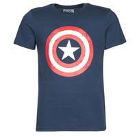 Vêtements Homme T-shirts manches courtes Yurban CAPTAIN AMERICA LOGO