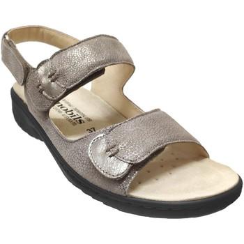 Chaussures Femme Sandales et Nu-pieds Mobils By Mephisto Getha Taupe métallisé cuir
