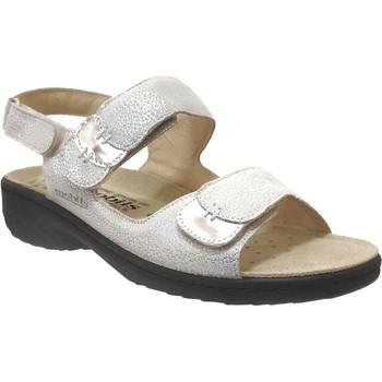 Chaussures Femme Sandales et Nu-pieds Mobils By Mephisto Getha Gris métal