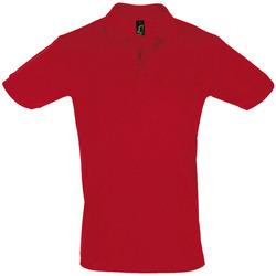 Vêtements Homme Polos manches courtes Sols PERFECT COLORS MEN Rojo