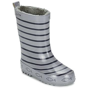 Scarpe Unisex bambino Stivali da pioggia Be Only TIMOUSS Grigio