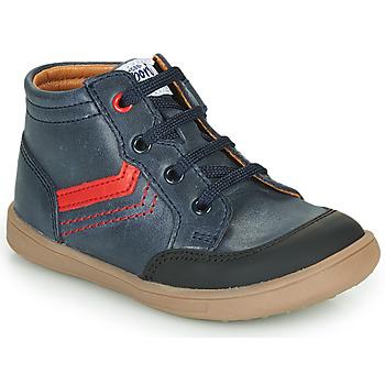 Schuhe Jungen Sneaker High GBB VIGO VTE MARINE DPF/MESSI