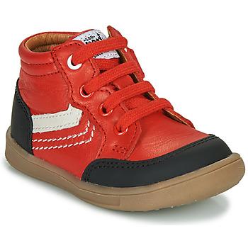 Scarpe Bambino Sneakers alte GBB VIGO VTU ROUGE DPF/MESSI