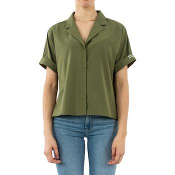 Vêtements Femme Chemises / Chemisiers Gertrude + Gaston juliette jurassic vert