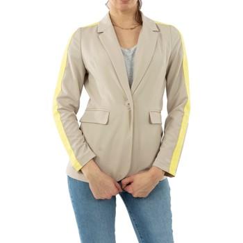 Vêtements Femme Vestes / Blazers Gertrude + Gaston mae saturn beige