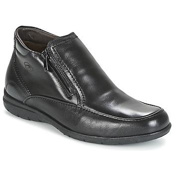 Schuhe Herren Boots Fluchos LUCA Schwarz