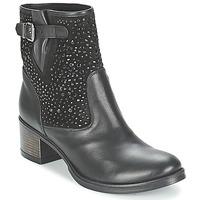 Chaussures Femme Bottines Meline NERCRO Noir