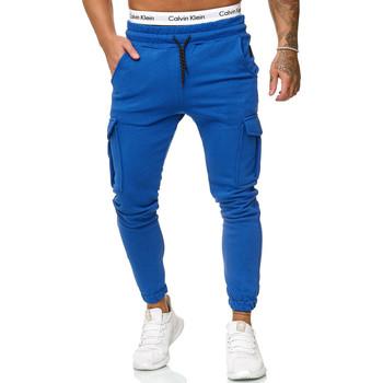 Vêtements Homme Pantalons de survêtement Cabin Pantalon de jogging treillis Jogging R-1213 bleu Bleu
