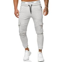 Vêtements Homme Pantalons de survêtement Cabin Jogging treillis homme Jogging R-1214 gris clair Gris