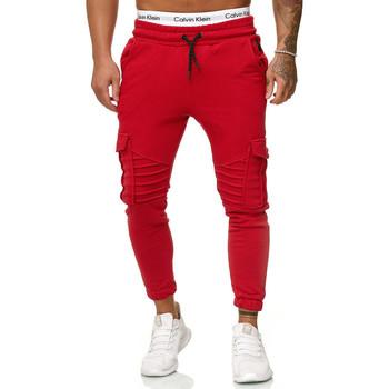 Vêtements Homme Pantalons de survêtement Cabin Pantalon jogging treillis Jogging R-1214 rouge Rouge