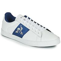 Schuhe Damen Sneaker Low Le Coq Sportif ELSA Weiß / Blau