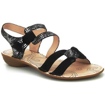 Chaussures Femme Sandales et Nu-pieds Fugitive Alera Noir