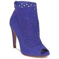 Schuhe Damen Ankle Boots Bourne RITA Blau