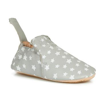 Schuhe Kinder Hausschuhe Easy Peasy BLUBLU MOU NUIT PLUME-BLANC MOU/PATIN