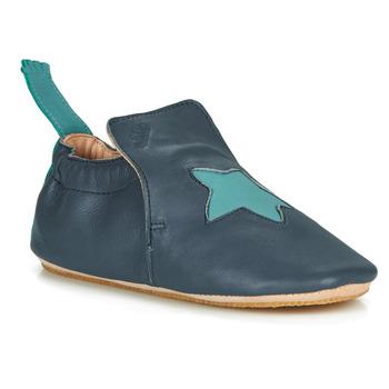 Chaussures Enfant Chaussons Easy Peasy BLUBLU ETOILE MOU DENIM-AQUA MOU/PATIN