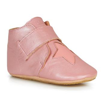 Scarpe Bambina Pantofole Easy Peasy KINY ETOILE MOU POWDER-CORAL MOU/PATIN