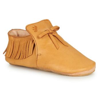 Schuhe Kinder Hausschuhe Easy Peasy MEXIBLU Kognac