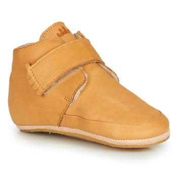 Schuhe Kinder Hausschuhe Easy Peasy WINTERBLUE Kognac