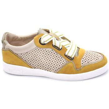Chaussures Femme Baskets mode Mam'Zelle ballade jaune