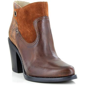 Chaussures Femme Bottines Casta JAZZA COGNAC
