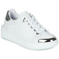 Chaussures Femme Baskets basses Guess BRANDYN Blanc