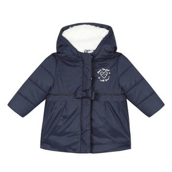 Kleidung Mädchen Daunenjacken 3 Pommes 3R42012-49 Marineblau