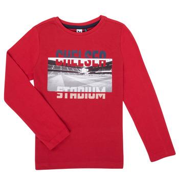 Kleidung Jungen Langarmshirts 3 Pommes 3R10015-37-C Rot