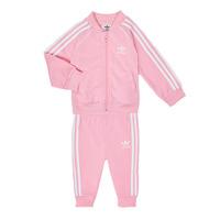 Kleidung Mädchen Kleider & Outfits adidas Originals SST TRACKSUIT