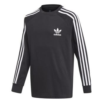 Kleidung Jungen Langarmshirts adidas Originals 3STRIPES LS