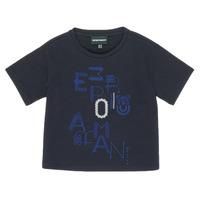 Vêtements Fille T-shirts manches courtes Emporio Armani 6H3T7R-2J4CZ-0926