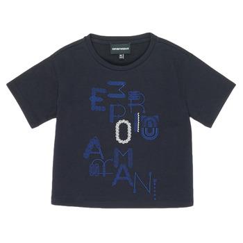 Kleidung Mädchen T-Shirts Emporio Armani 6H3T7R-2J4CZ-0926