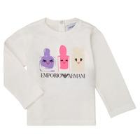 Kleidung Mädchen Langarmshirts Emporio Armani 6HET02-3J2IZ-0101