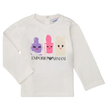 Abbigliamento Bambina T-shirts a maniche lunghe Emporio Armani 6HET02-3J2IZ-0101