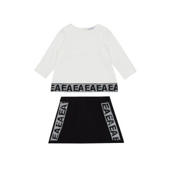 Vêtements Fille Ensembles enfant Emporio Armani 6HEV08-3J3PZ-0101