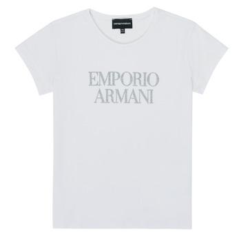 Vêtements Fille T-shirts manches courtes Emporio Armani 8N3T03-3J08Z-0100