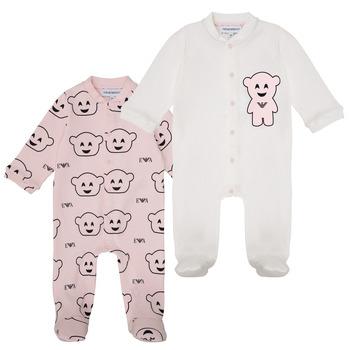 Vêtements Fille Pyjamas / Chemises de nuit Emporio Armani 6HHV06-4J3IZ-F308