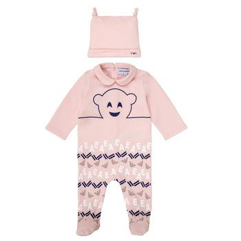 Vêtements Fille Pyjamas / Chemises de nuit Emporio Armani 6HHV08-4J3IZ-0355