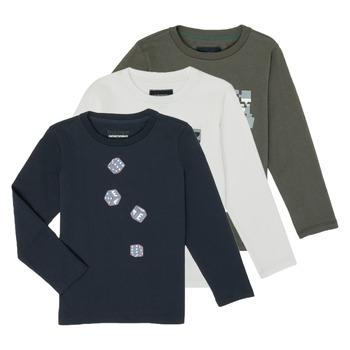 Kleidung Jungen Langarmshirts Emporio Armani 6H4D01-4J09Z-0564