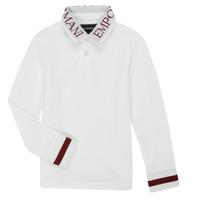 Vêtements Garçon Polos manches longues Emporio Armani 6H4FJ4-1J0SZ-0101