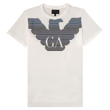 Abbigliamento Bambino T-shirt maniche corte Emporio Armani 6H4TQ7-1J00Z-0101
