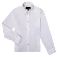 Kleidung Jungen Langärmelige Hemden Emporio Armani 8N4CJ0-1N06Z-0100