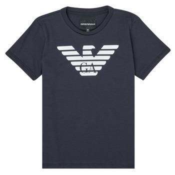 Vêtements Garçon T-shirts manches courtes Emporio Armani 8N4T99-1JNQZ-0939
