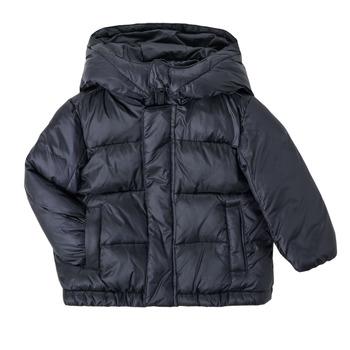 Kleidung Jungen Daunenjacken Emporio Armani 6HHBL1-1NLSZ-0920 Marineblau