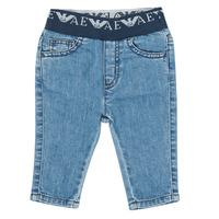 Vêtements Garçon Jeans slim Emporio Armani 6HHJ07-4D29Z-0942