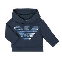 Kleidung Jungen Sweatshirts Emporio Armani 6HHMA9-4JCNZ-0922 Marineblau