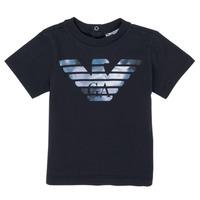 Vêtements Garçon T-shirts manches courtes Emporio Armani 6HHTA9-1JDXZ-0920