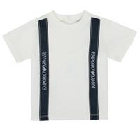 Vêtements Garçon T-shirts manches courtes Emporio Armani 6HHTG4-1JTUZ-0101