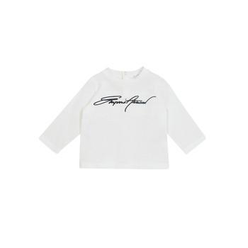 Vêtements Garçon T-shirts manches longues Emporio Armani 6HHTJN-1JTUZ-0101