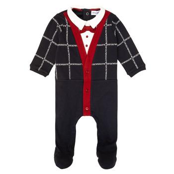 Kleidung Jungen Pyjamas/ Nachthemden Emporio Armani 6HHD12-4J3WZ-F912