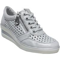 Chaussures Femme Derbies Remonte Dorndorf R7214 Gris metal cuir